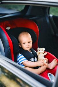 car seat laws in california
