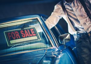sell your vehicle in california