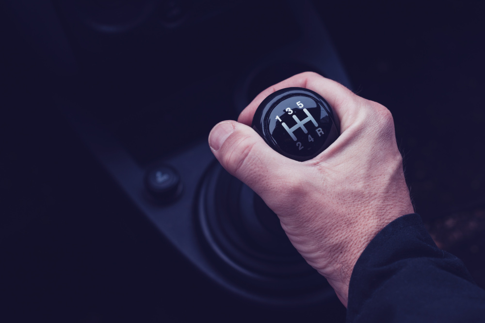 driving stick with manual transmission