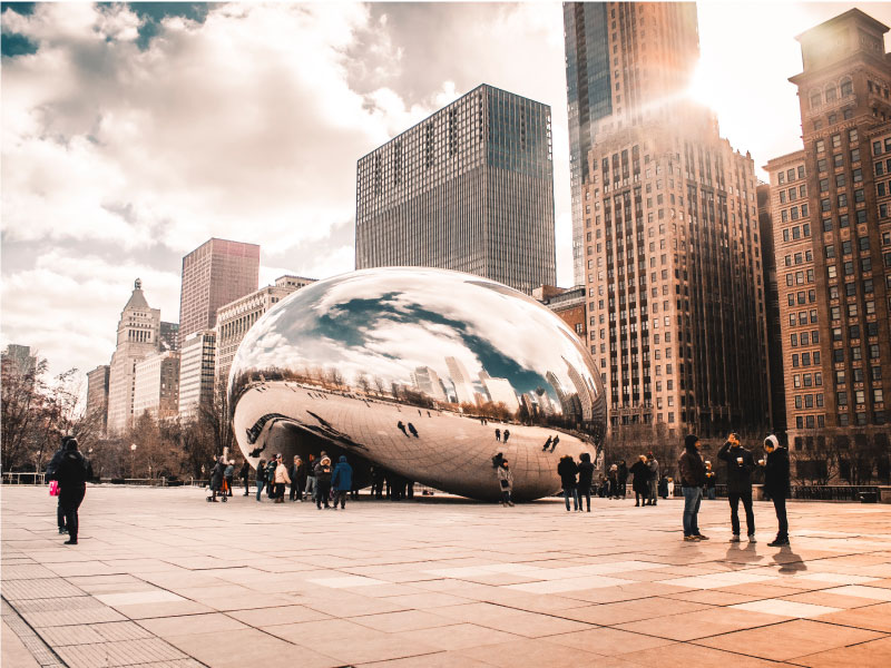 The bean millennium park